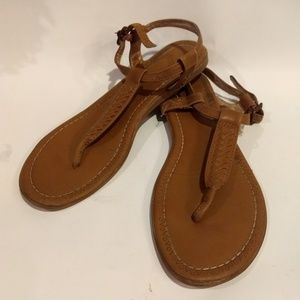 X-appeal brown sandals